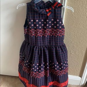 Janie and Jack girl dress size 7